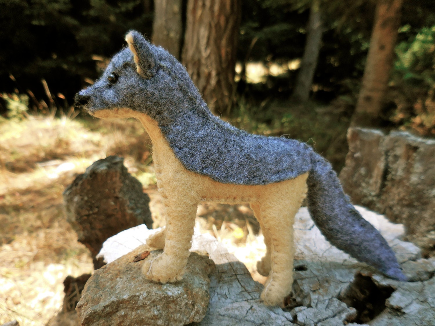 wolf stuffed animal realistic wolf wolf toy stuffed wolf. Black Bedroom Furniture Sets. Home Design Ideas