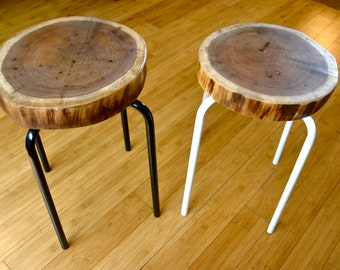 Black Walnut Stools