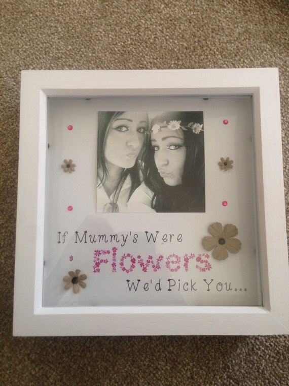 Mum Box Frame Personalised Great Gift For Mothers Day