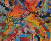 Original Colorist Painting: Becker Beste No. 51, abstract expressionist art, acrylic painting, canvas painting, art decoration, home decor