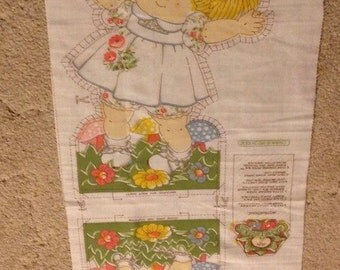 Cabbage Patch Doll Fabric 1983