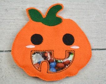 Pumpkin Candy Pouch