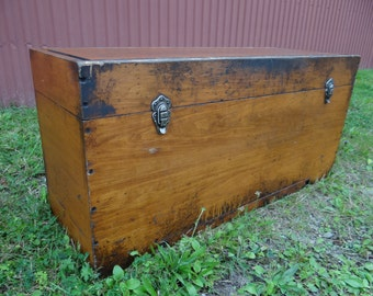 Free Shipping Early 1920's Machinist Dream Tool Chest!!!