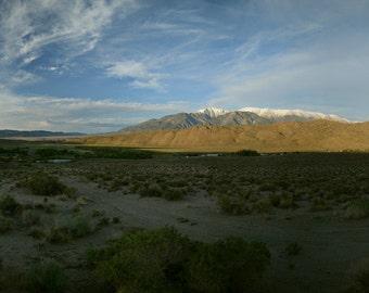 California, Mountains, Snow, Farm, Ranch, Yosemite, Path, Sun