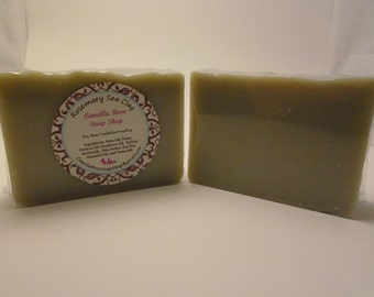 Rosemary Sea Clay Handmade Cold Process Soap