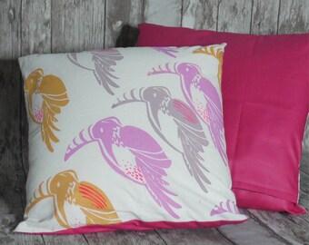 Cushion child reason toucan jungle