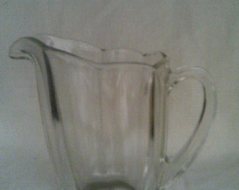 Chippendale Style Glass Jug