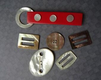 Old Belt Buckle Set