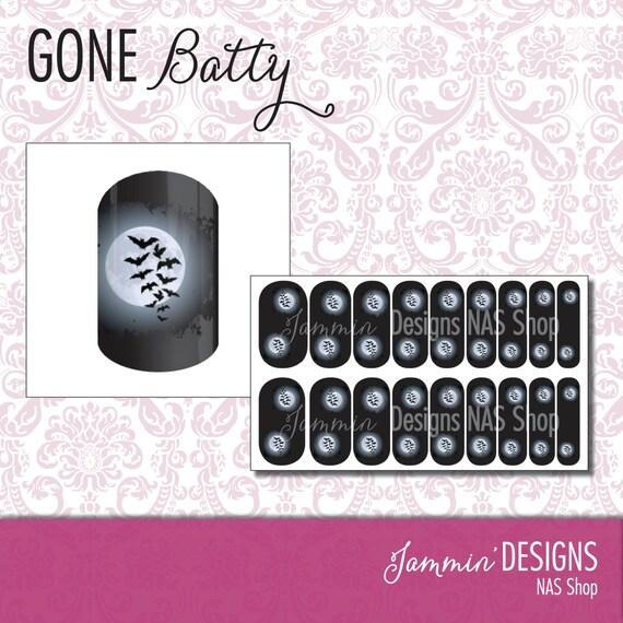 Gona Batty NAS (Nail Art Studio) Design