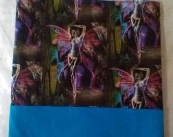 Vibrant Turquoise Fairy tote bag