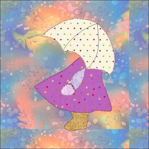 Sunbonnet Sue Sunbonnet Umbrella Pdf Download Instant
