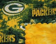 Green Bay Packers Tie Blanket