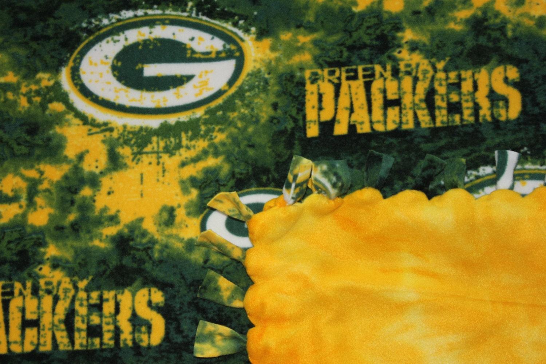 Green Bay Packers Tie Blanket.Green Bay Blanket Green Bay Blanket ...