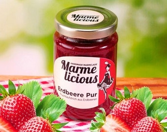 Pure Strawberry fruit spread