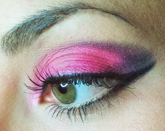 Pink-Red Mineral Eyeshadows