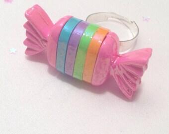 Cute Bon Bon Candy Ring