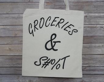 Groceries Tote
