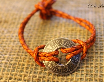 Two Shilling Coin Bracelet