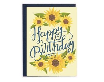 Sunflower Birthday Card (The Julia)