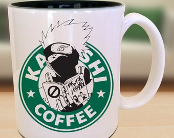 World's Famous Copy Ninja Anime Nerd Coffee Kakashi Mug Gift Parody Idea