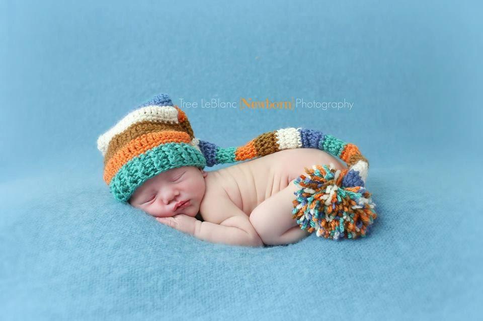 Baby Elf Hat Knitting Pattern Free Pattern Crochet Elf Striped