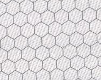 Chicken Wire in White 8255 1