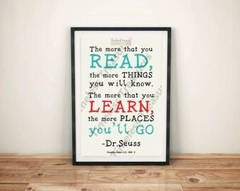 Kids (J) Dr Seuss Quote