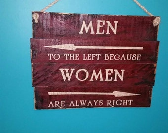 Humorous bathroom sign for your business or home.