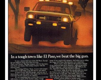 "Vintage Print Ad July 1979 : Isuzu Truck Car Automobile Advertisement Wall Art Decor Color 8.5"" x 11"""