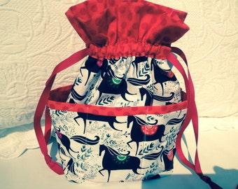 Medium knitting sack