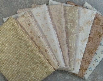 Henry Glass Creamery by Buggy Barn 8 Fat Quarter Bundle