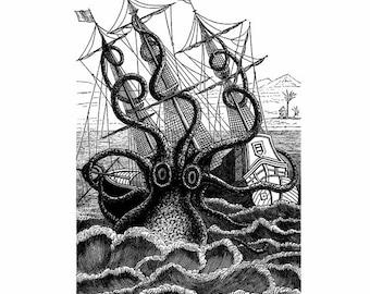 The Kraken TShirt