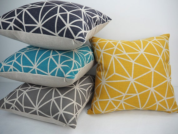 22x22 Throw Pillow Covers : Throw Pillows Decorative Pillows Pillow covers by HomeDecorYi