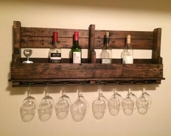 8-Glass Wine Rack