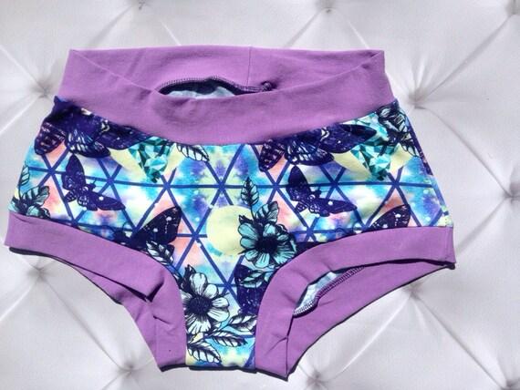 Custom Made To Order Dark Moth Print Panties - Pick your Size- xs-xxxl - Scrundie