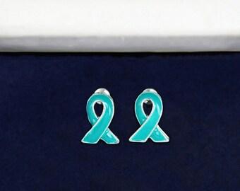 Ovarian Cancer Awareness Stud Earrings