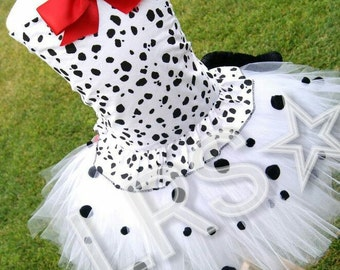 dalmation puppy tutu costume