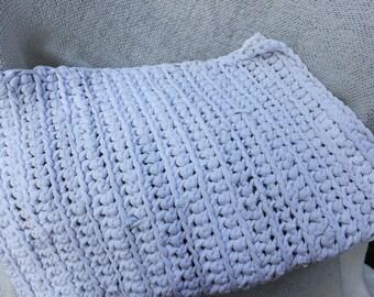 Upcycled t shirt rug | Etsy