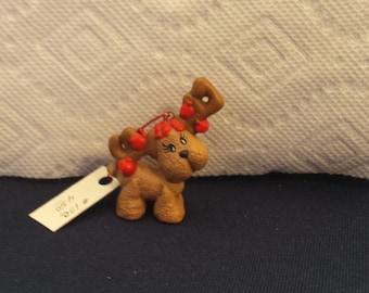Ceramic Deer Ornament (#13C)