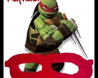 Ninja Turtles Mask Raphael