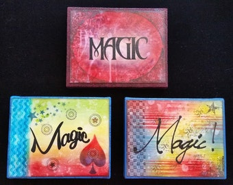 Power Word Plaques - Magic