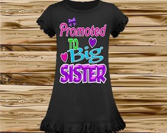 Big Sister Shirt - Big Sister Announcement Shirt