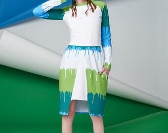 SALE Organic Midi Skirt