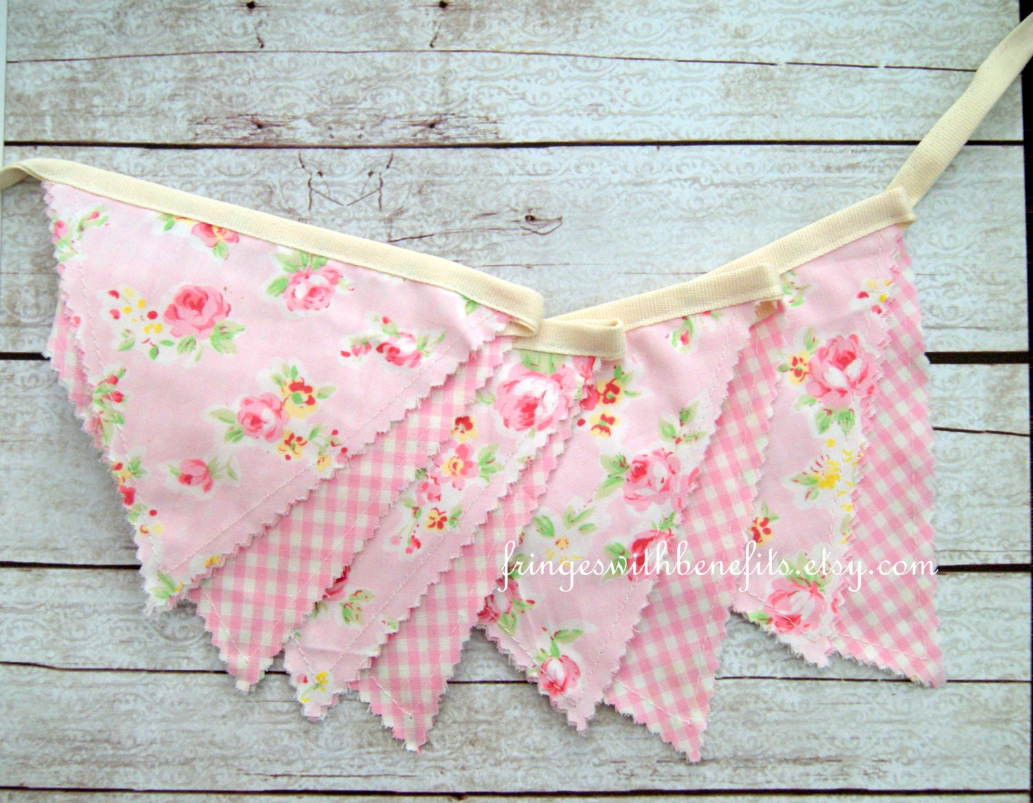 shabby chic bunting - photo #42
