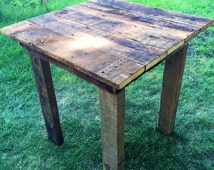 Handcrafted Barn Wood Dining Tables