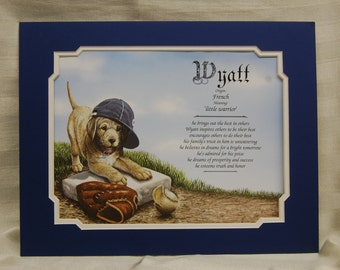 Baseball Puppy Name Origin and Meaning