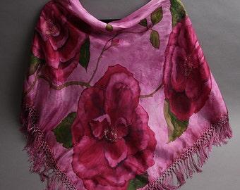 Wild Rose Shawl