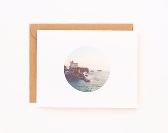 Villa Belza Biarritz Greeting Card