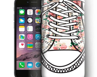 Sneaker Floral iPhone Case For iPhone 6 Plus Case,iPhone 6 Case,iPhone 5/5s Case,iPhone 5C Case,iPhone 4/4s Case,iPod Touch 5 Case Sneaker