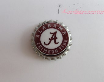 College Football (Alabama) Bottle Cap Pin